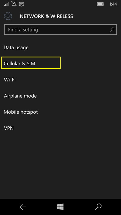 cellular-sim-settings-windows-10-mobile