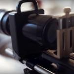 Что будет если присоединить объектив Nikon к смарт...