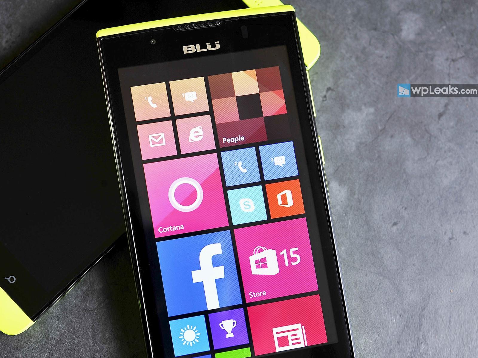 BLU-Win-JR-LTE-Front-Display-Yellow