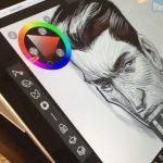 Работа художника на Surface Pro удивила посетителя...