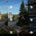 """Панорамные фото в """"камере Windows"""""""