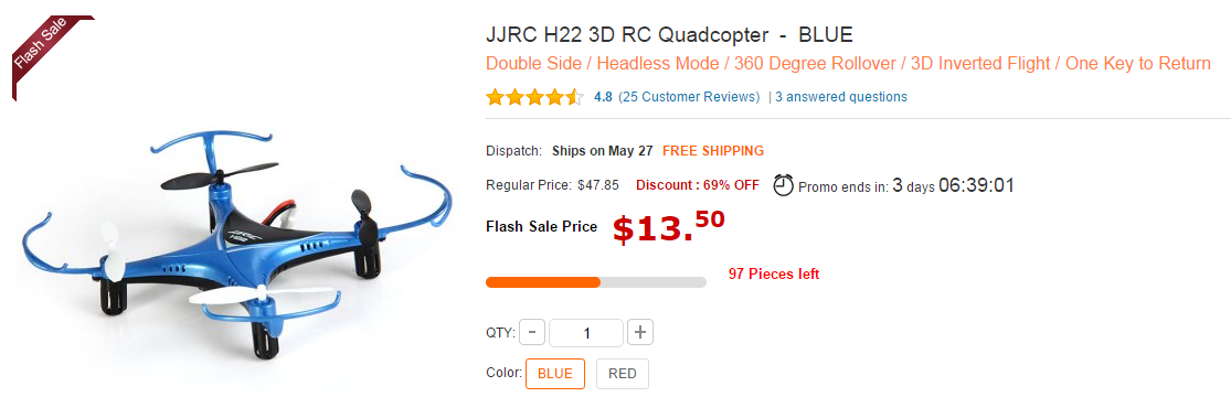 купить дрон jjrc квадрокоптер недорого