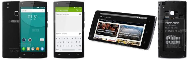 DOOGEE X5 MAX 3G Smartphone_black