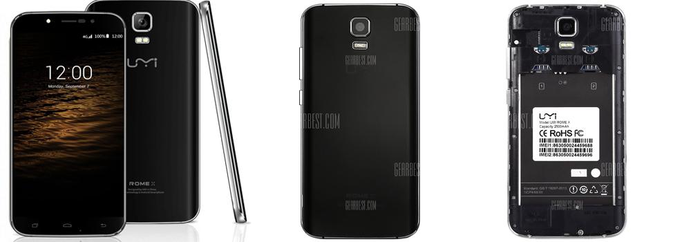UMI ROME X 3G Phablet - BLACK