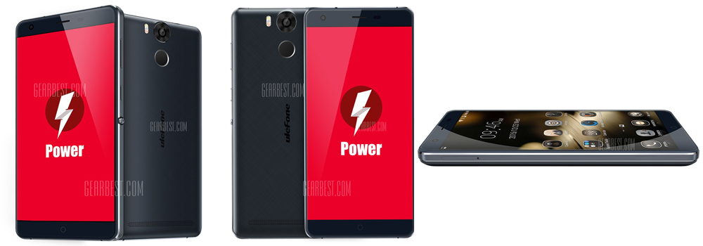Ulefone Power 4G Phablet - BLUE