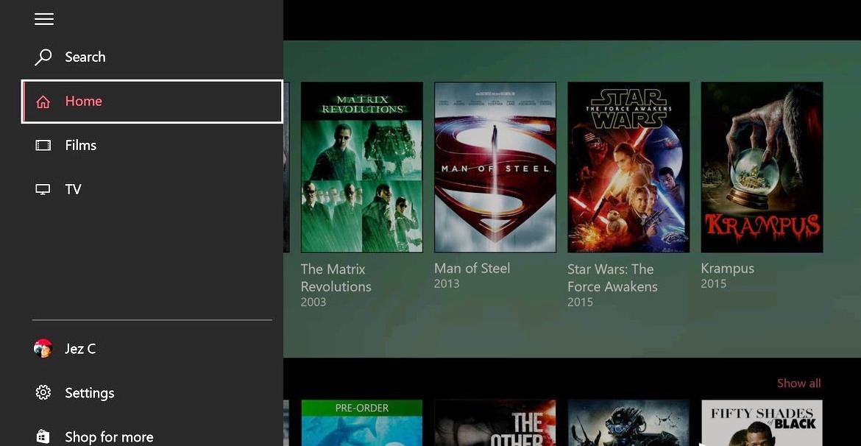 Приложение Мovie&TV