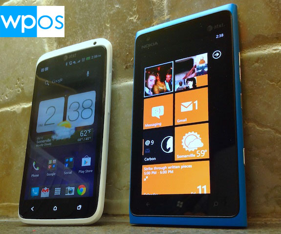 Nokia Lumia 900 vs HTC One X vs iPhone 4S