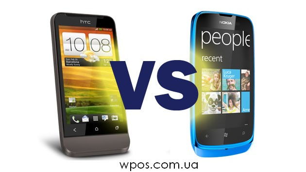 HTC One V vs Nokia Lumia 610