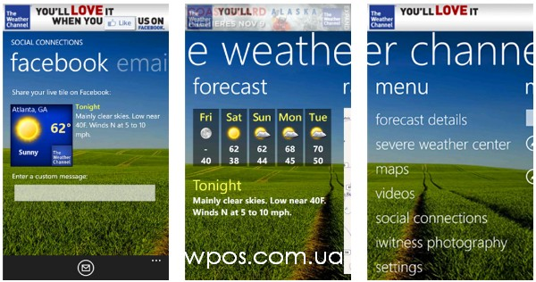 Nokia Weather Channel