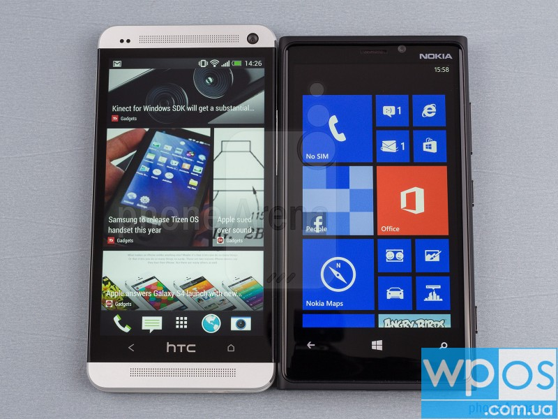 HTC One vs Nokia Lumia 920