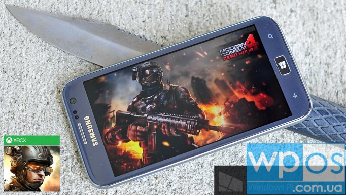 Modern Combat 4 Windows Phone 8