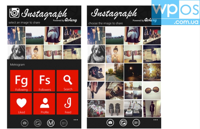Instagraph 2 Windows Phone 8