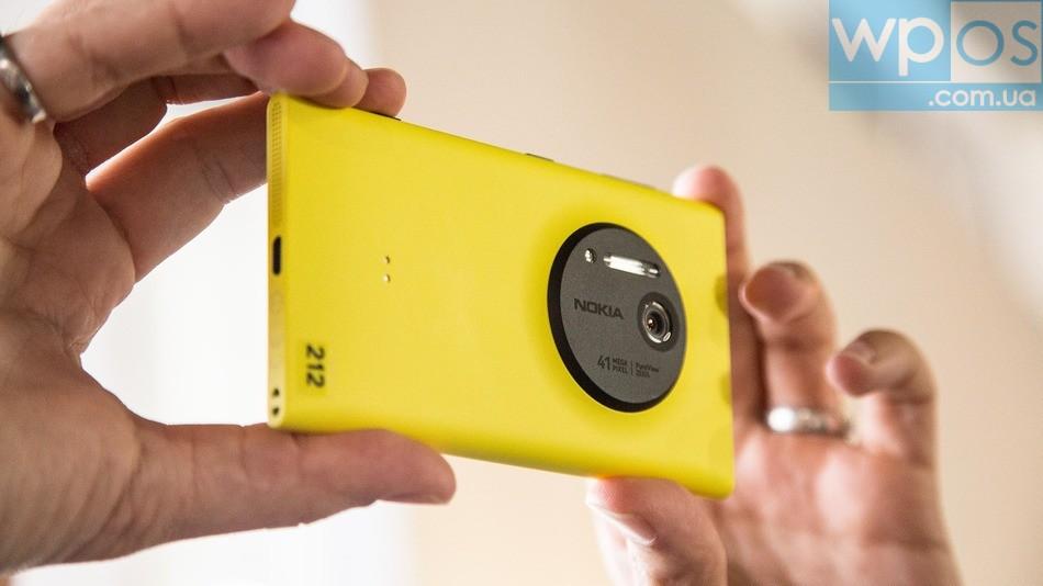 Nokia Lumia 1020 видео фото съемка