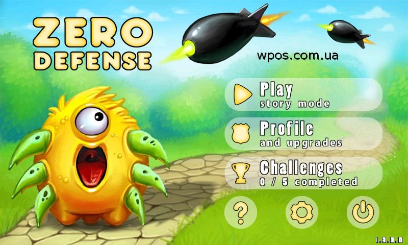 Zero Defense Windows Phone