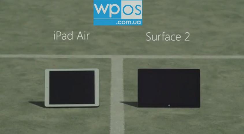 Surface 2 против iPad Air