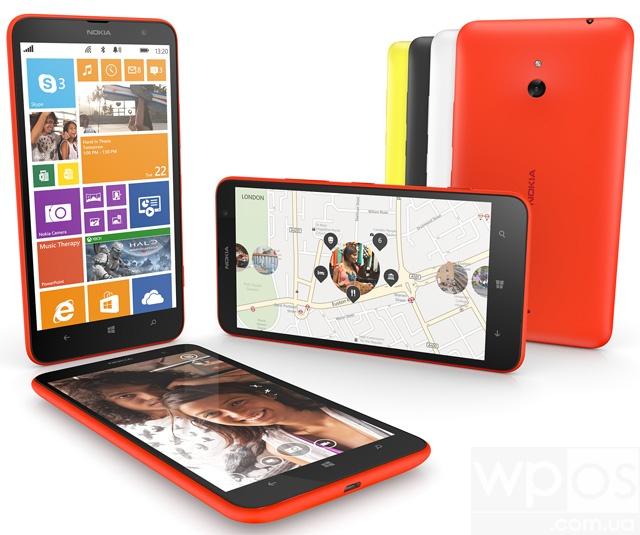 Nokia Lumia 1320 в Украине