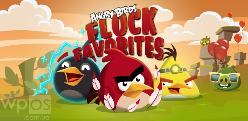 Angry Birds Flock Favorites
