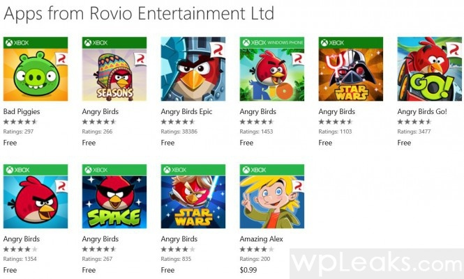 angry birds windows phone free
