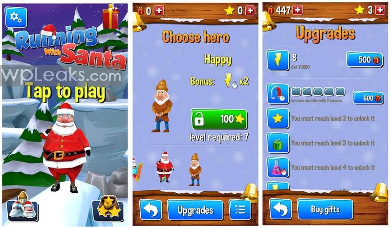 Running_With_Santa_Menu