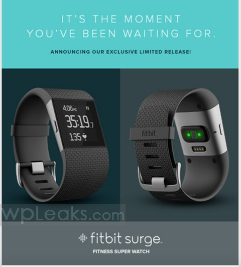 fitbit surge limited release