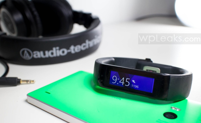 microsoft band lumia 930