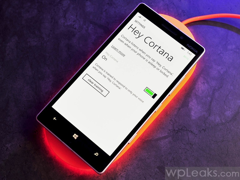 Hey Cortana denim lumia 930
