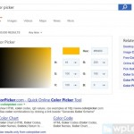 В Microsoft Bing появилась Палитра цветов