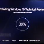 Редизайн экрана установки Windows 10 (видео)