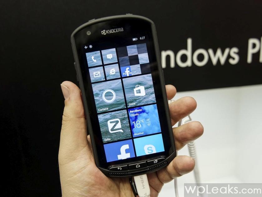 kyocera windows phone