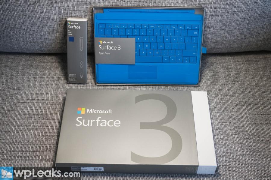 surface 3 распаковка