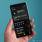 Приложение Windows Camera на Windows 10 Mobile пол...