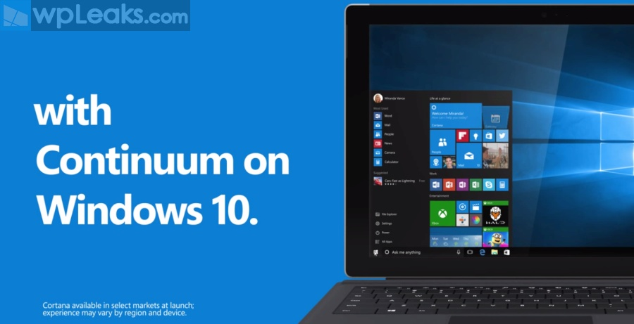 10 Reasons to Upgrade to Windows 10 CONTINUUM