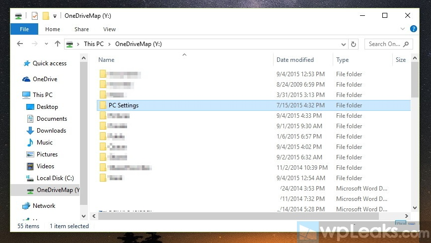 browsing-onedrive-files