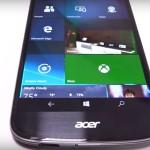 Беспроводной Continuum в действии на новом Acer Li...