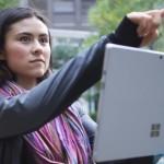 Surface Pro 3 был использован для запечатления япо...