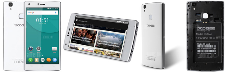 DOOGEE X5 MAX 3G Smartphone_silver