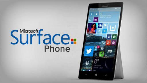 Microsoft Surface Phone концепт