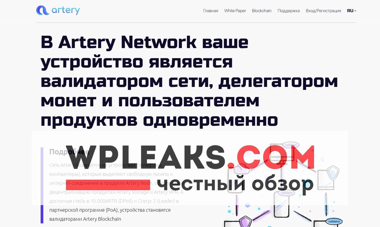 artery.network обзор
