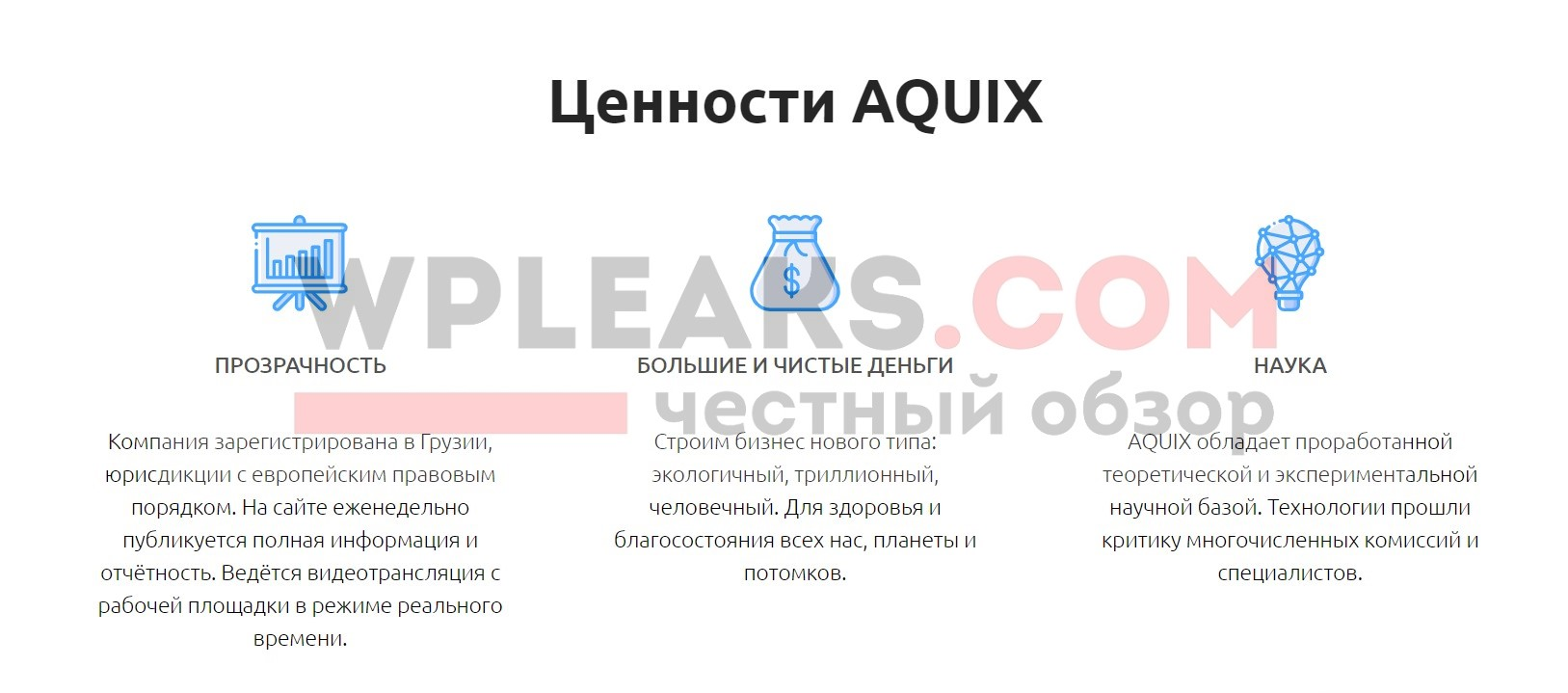 aquix.pro отзывы о проекте