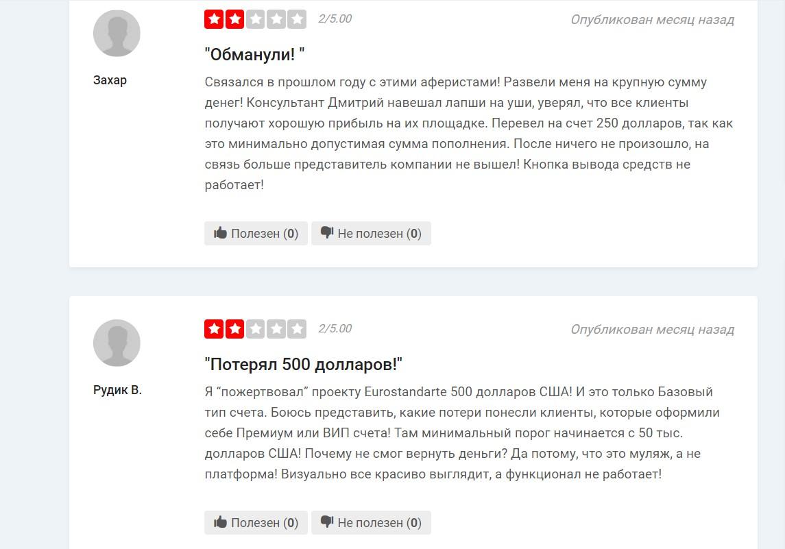 eurostandarte.com обзор