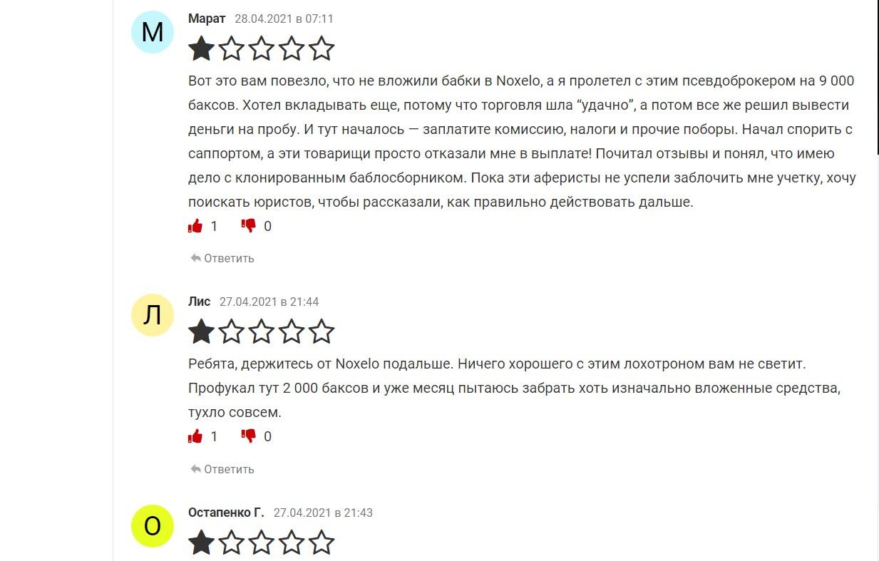 noxelo.com отзывы