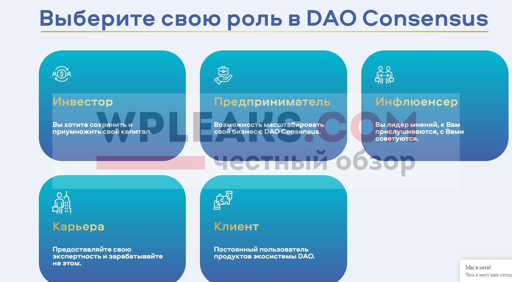 daoconsensus.com обзор