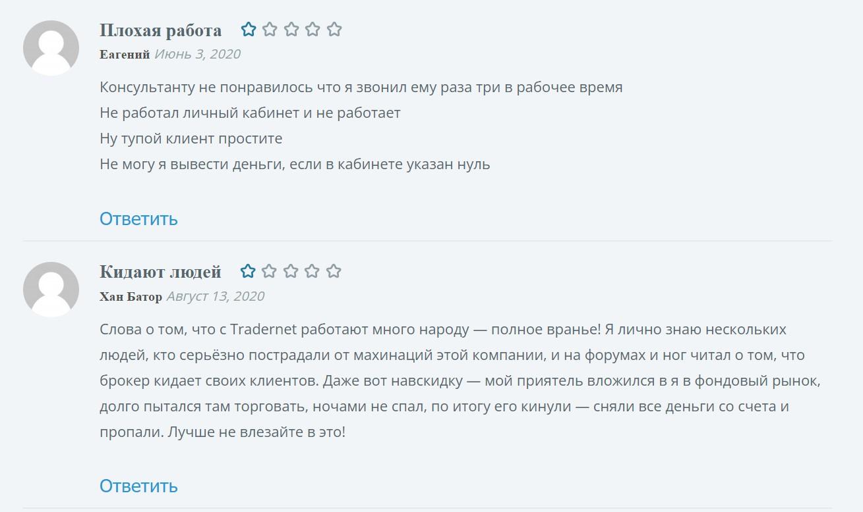 tradernet.ru отзывы